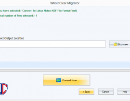 How to Migrate  EML file into NSF files format?