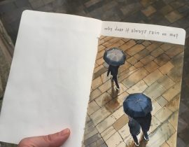 Why does it always rain on me?