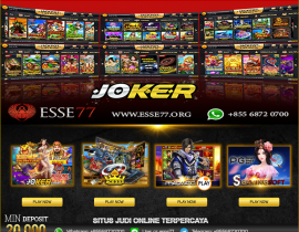 Link alternatif joker123 terpercaya