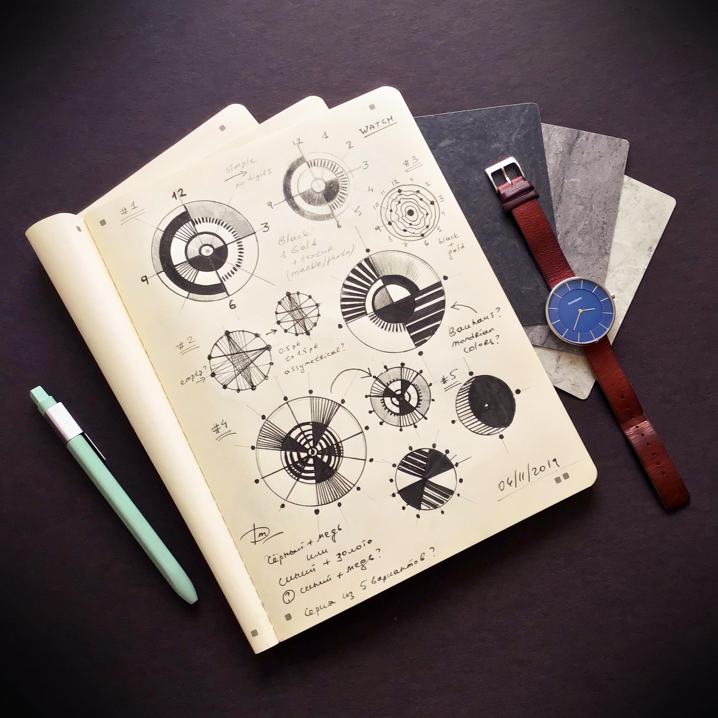 Designing New Watch