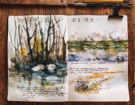 Landscape | Water Sketchbookpage