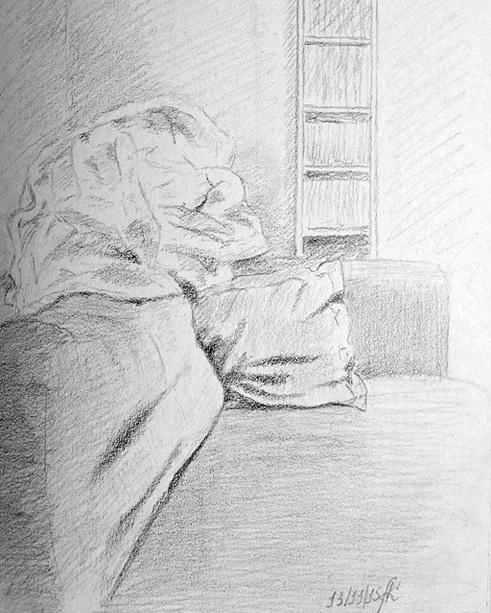 Sketch of the interior