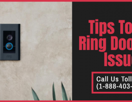 Ring Doorbell Troubleshooting Tips: Ring Chime Not Working