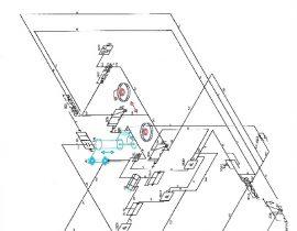 AERAZUR machine à poncer schéma pneumatique