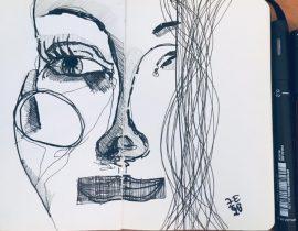 A liar Woman