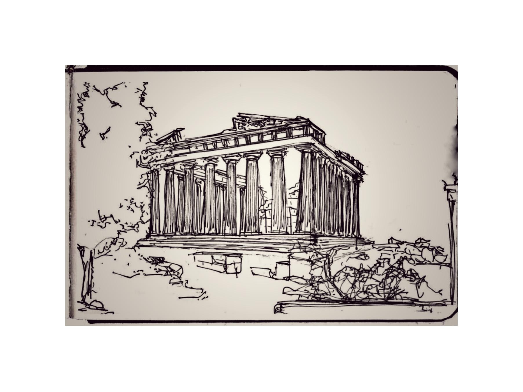 Parthenon rising