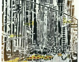 Before Manhattanhenge / with lighting correction