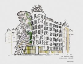 The Dancing House, Prague – refined
