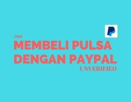 Cara Tukar Saldo PayPal Dengan Pulsa