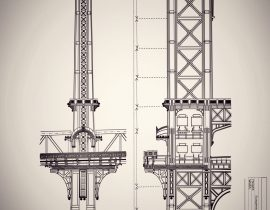Manhattan Bridge | study of structure