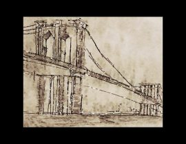 Brooklyn Bridge | study of volumes