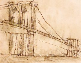 an iconic bridge