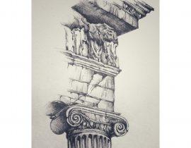 Corner of Parthenon