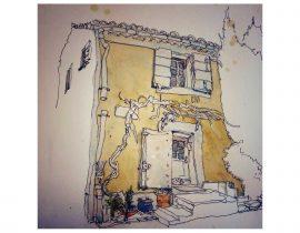 corner house, Cephalonia, Greece