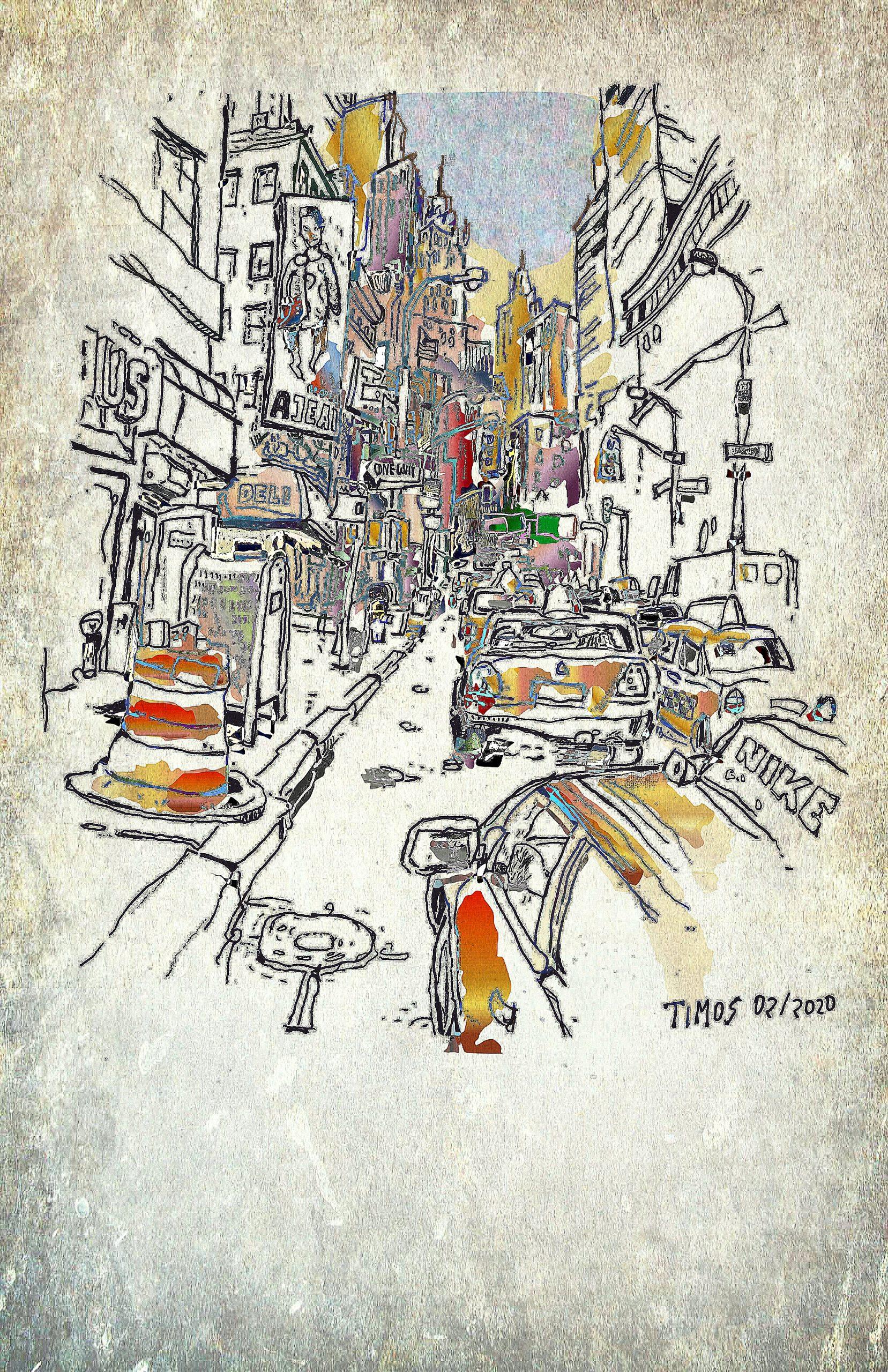 din of traffic