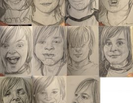 Pages from my moleskine.. my son