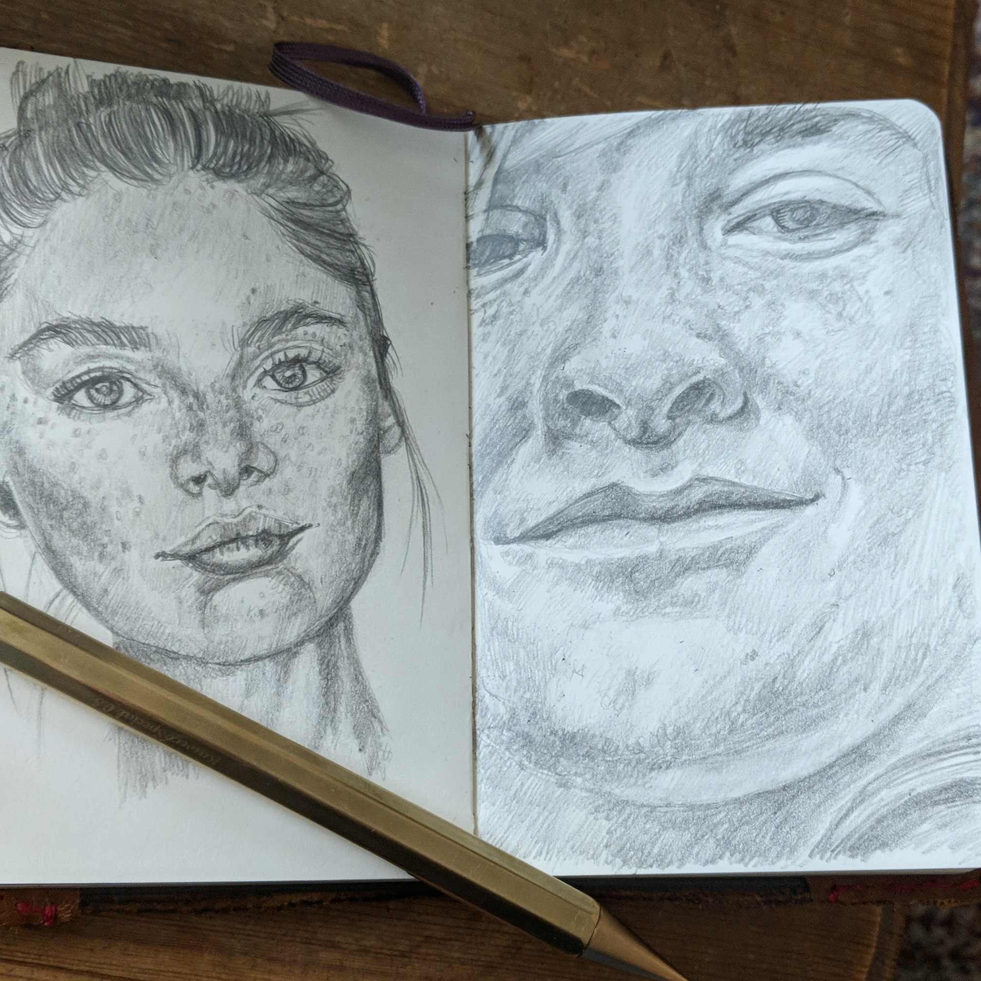 A page in my moleskine