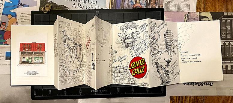 California Trip Sketchbook