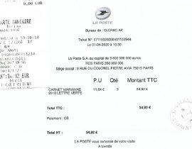 Ticket N°17110020200401102948