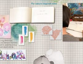 Frame your creativity on the cover