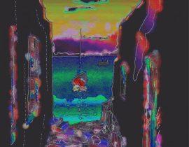 night island scene