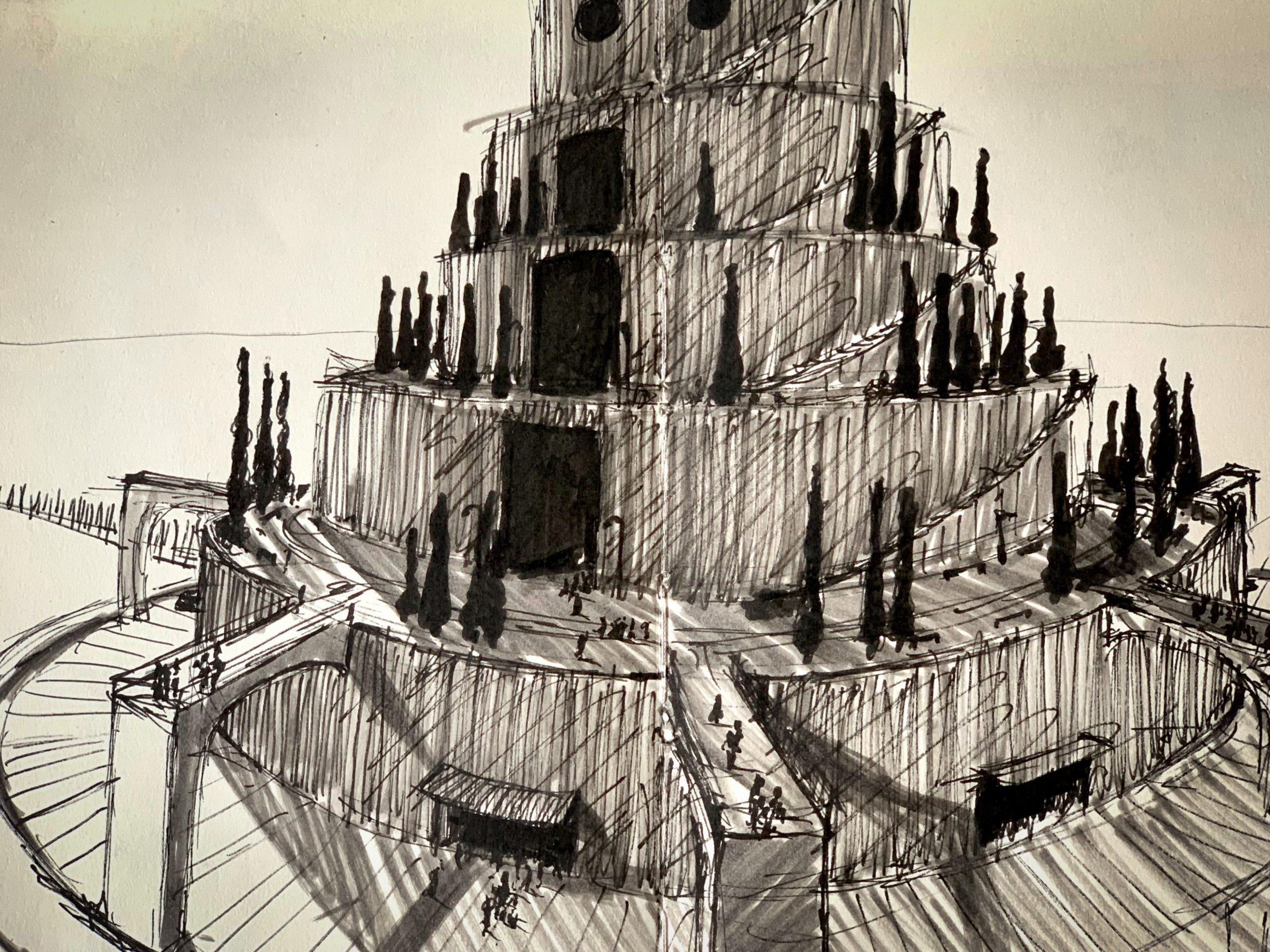 Babel Center – creative sketching