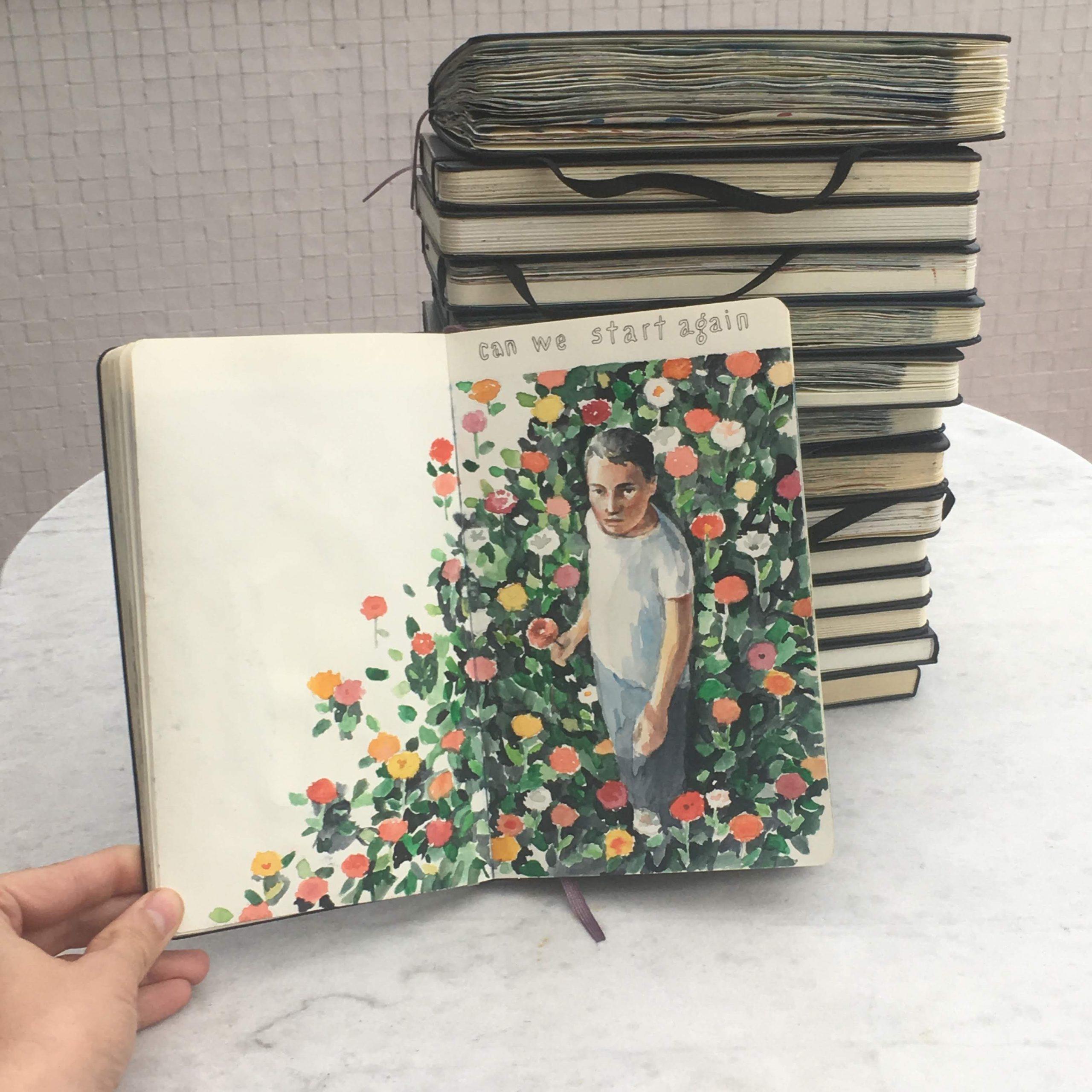 Moleskine songbooks