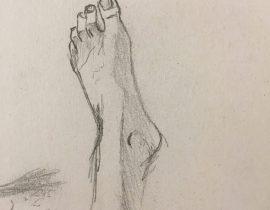 Foot Study #1