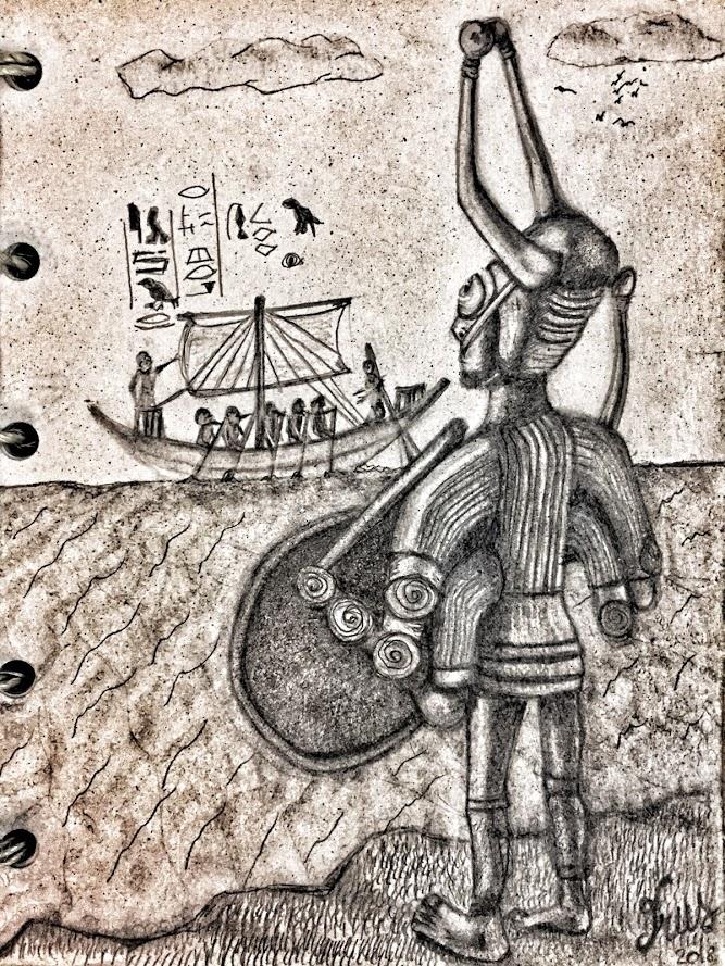 Shardana ed egizi