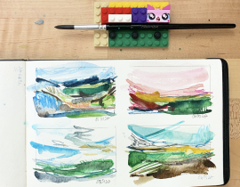 100 Days of Tiny Landscapes