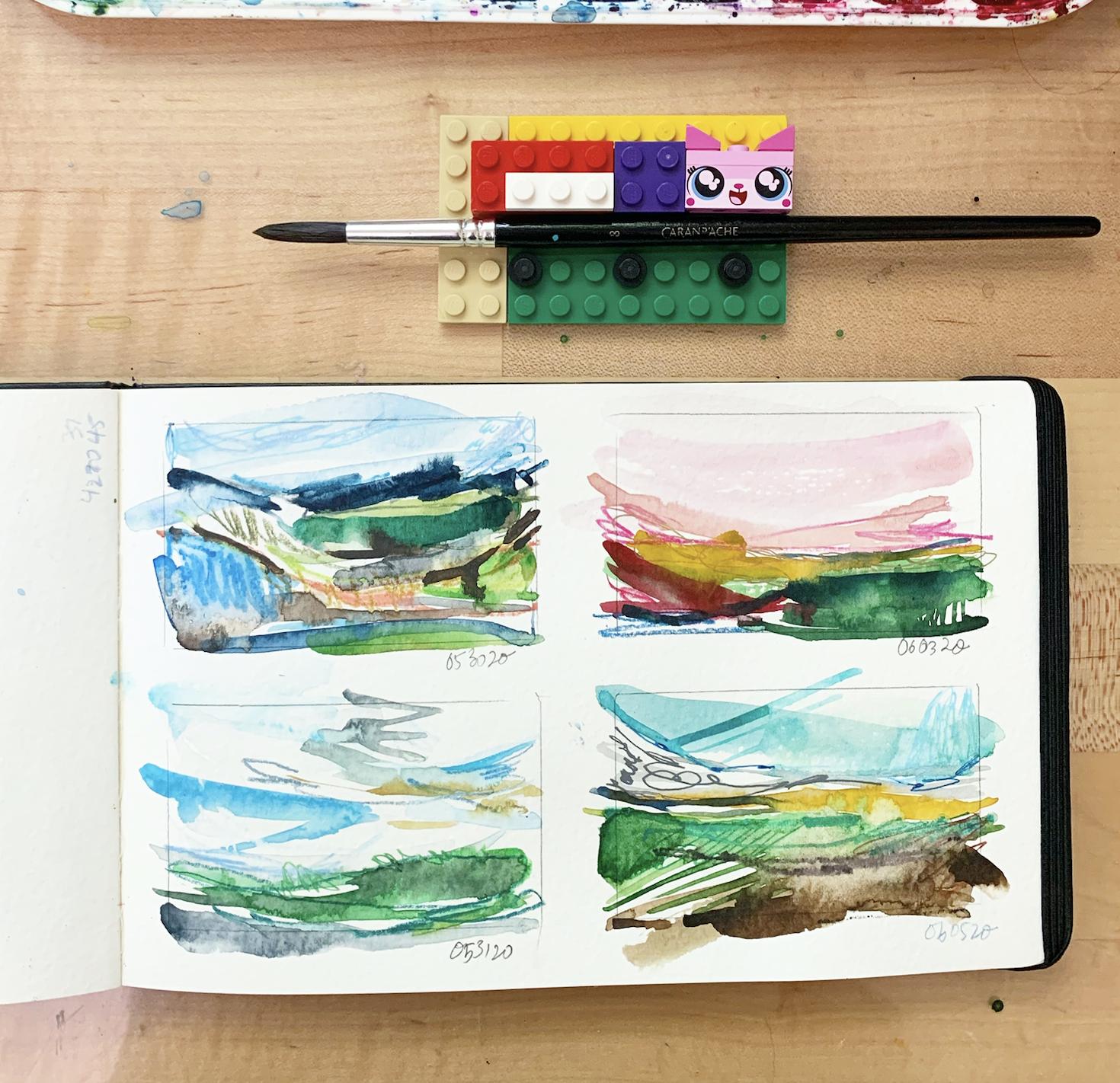 100 Days of Tiny Landscapes