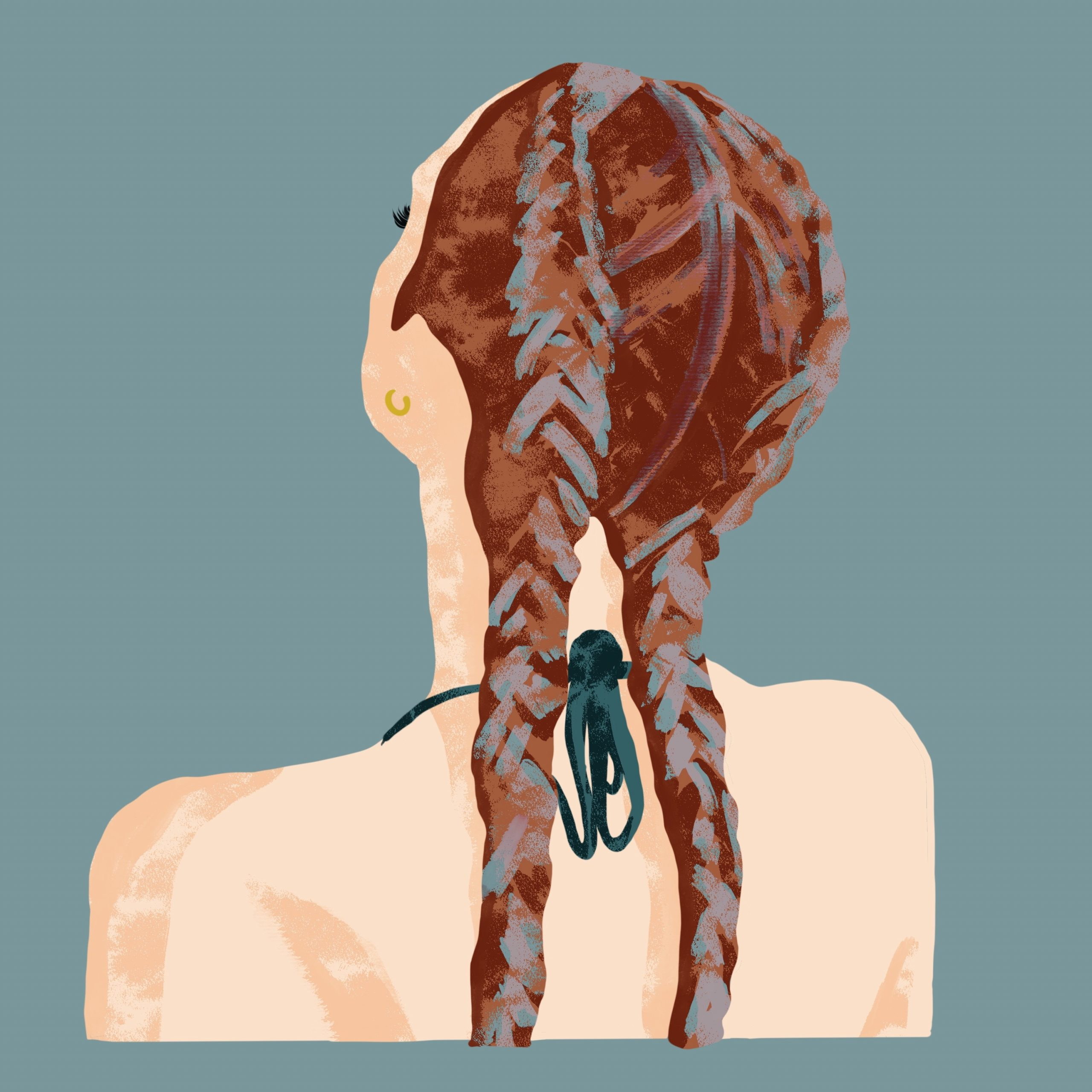 Girl with Braids