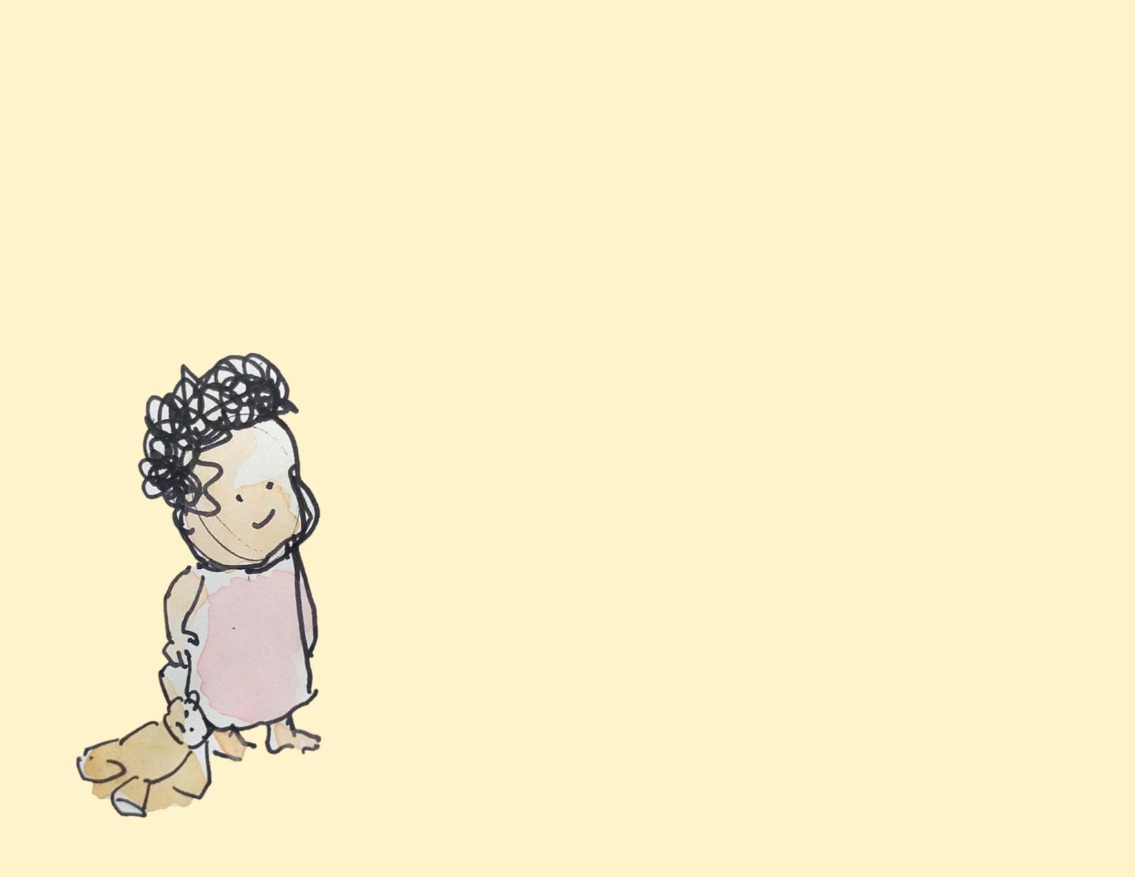 Alice and Teddy bear