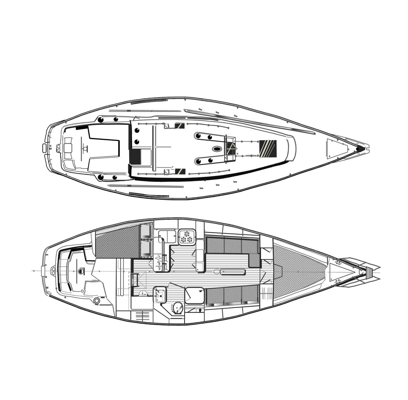 Catalina 38 | the decks