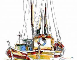 fishing boats | july.5.2020