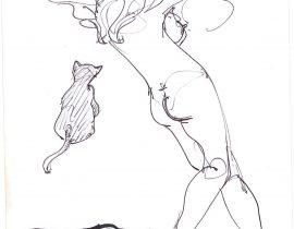Gato y rubia 2