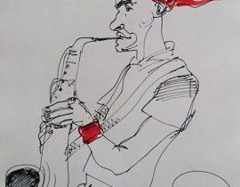El saxofonista
