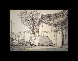 quiet corner of town