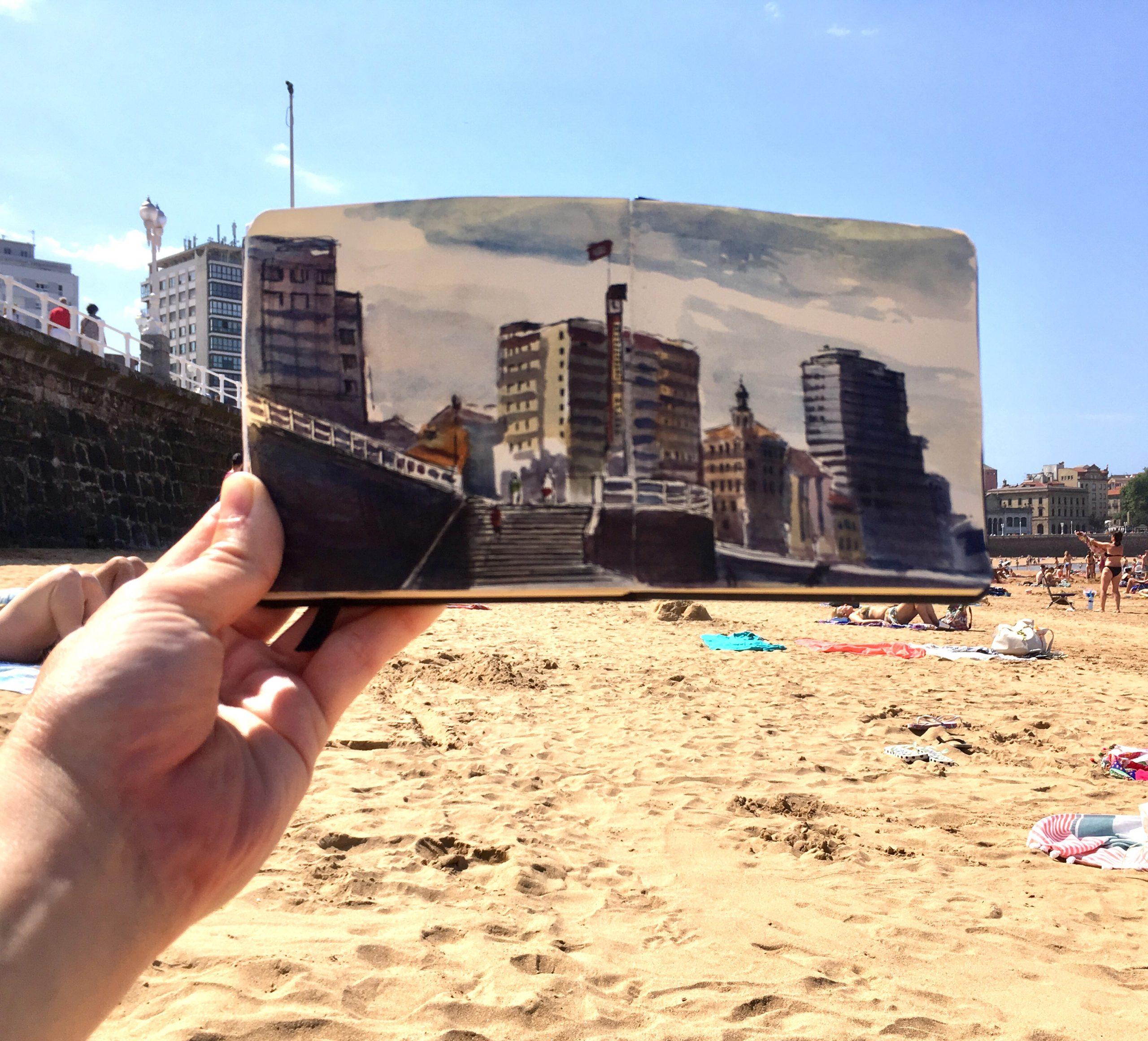 Gijón Beach