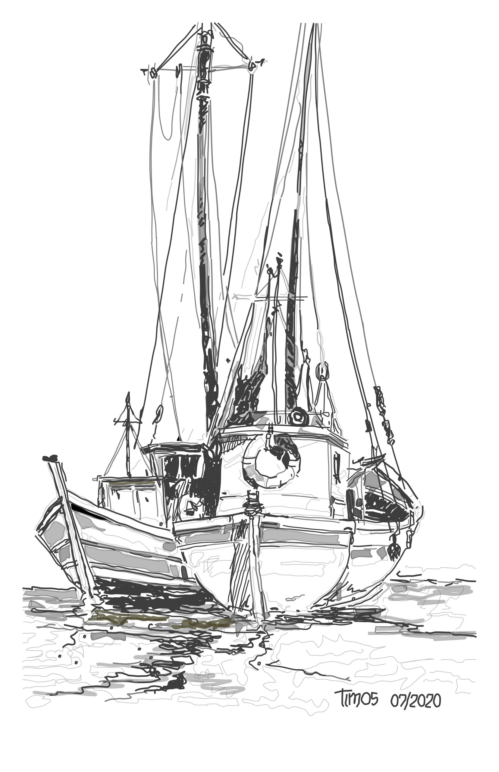 fishing boats \ version 07.03.2020