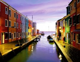 An Evening in Burano