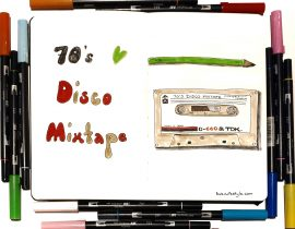 70s disco mixtape
