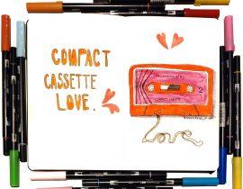 Compact cassette love