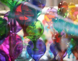 Rainbow glass balloon 🎈