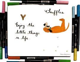 Snuffles the dog