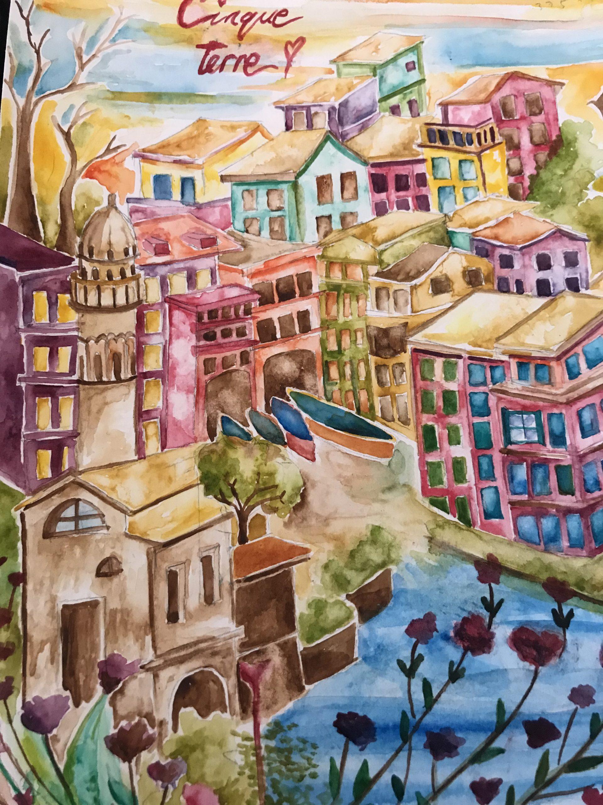 The Colorful Gem of Cinque Terre