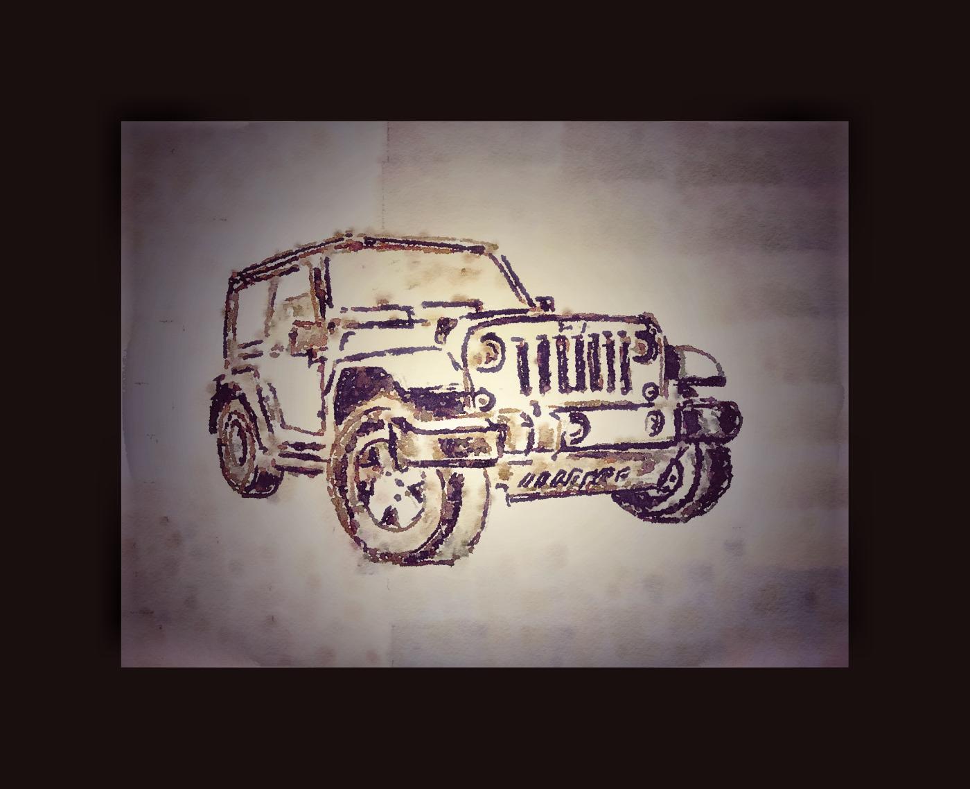 my beloved Jeep