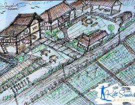 Sketch Kali Sawah Adventure Banyuwangi