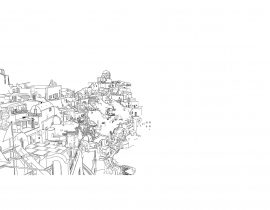 Santorini canvas | 09.18.2020