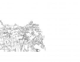 Santorini canvas | 09.22.2020